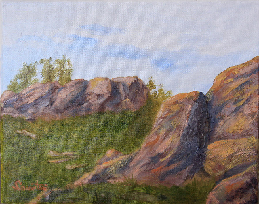 A Rocky Start Painting by Terry Sonntag