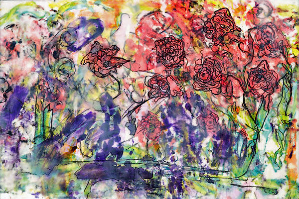 A Rose Is A Rose Painting by Joan Heiden