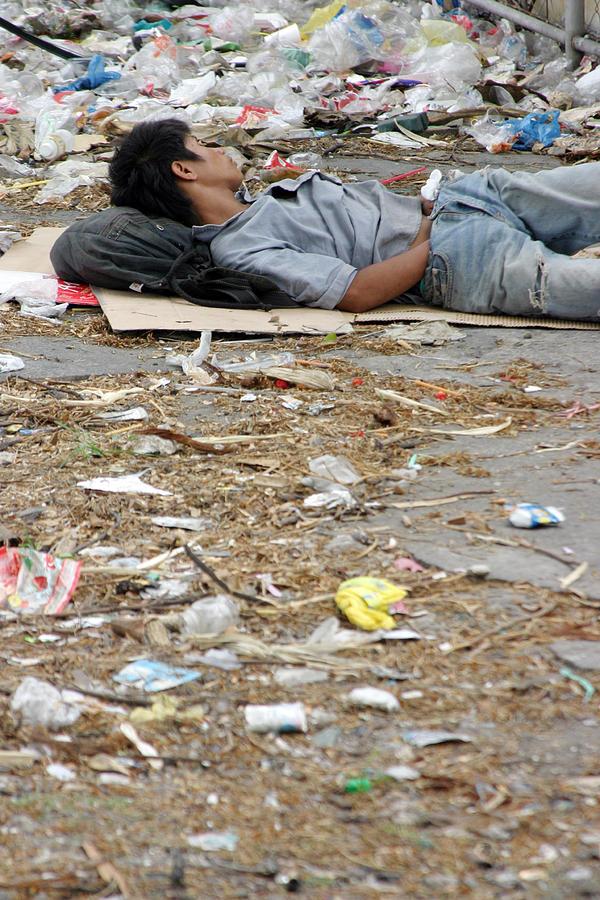 Photographer Photograph - A Rubbish Sleep by Jez C Self