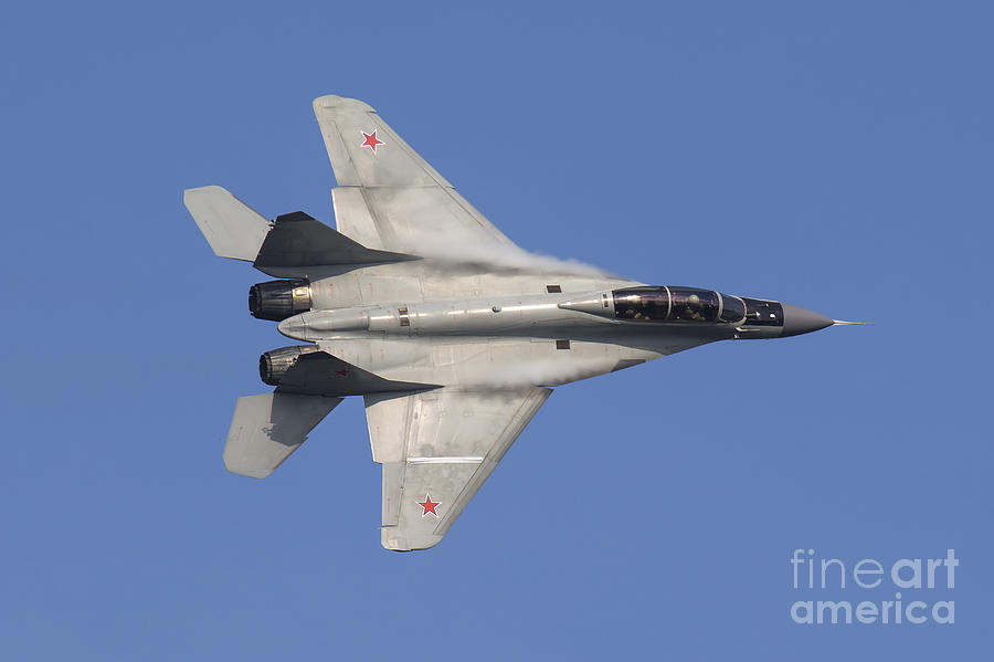 A Russian Air Force Mig-35 Fighter Photograph