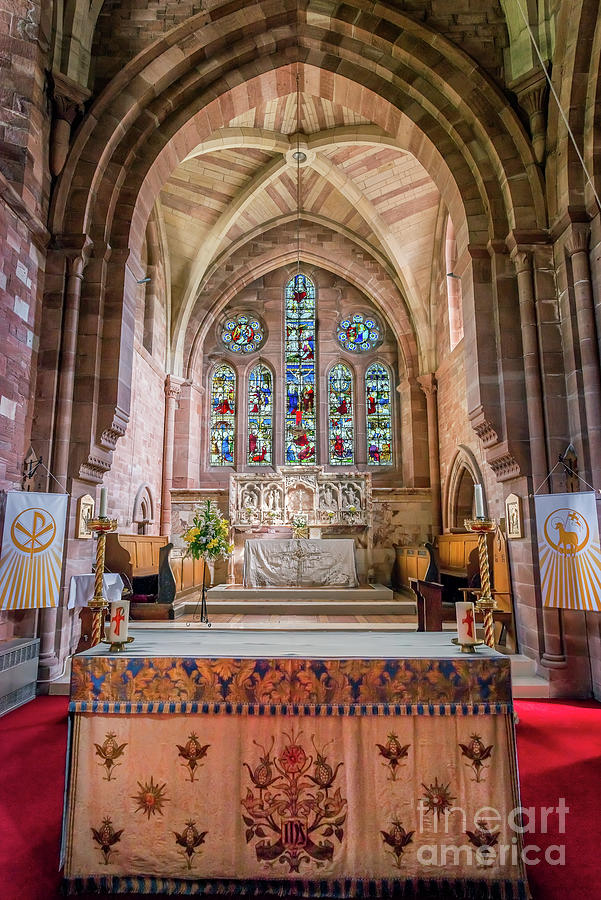 Catholic Photograph - A Sacred Place by Adrian Evans