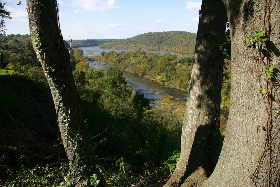 Harpers Ferry Photograph - A Scenic View Of The Potomac River by Stephen St. John