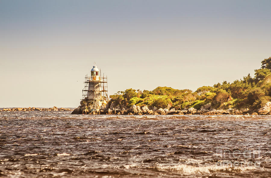 Light House Photograph - A Seashore Construction by Jorgo Photography - Wall Art Gallery