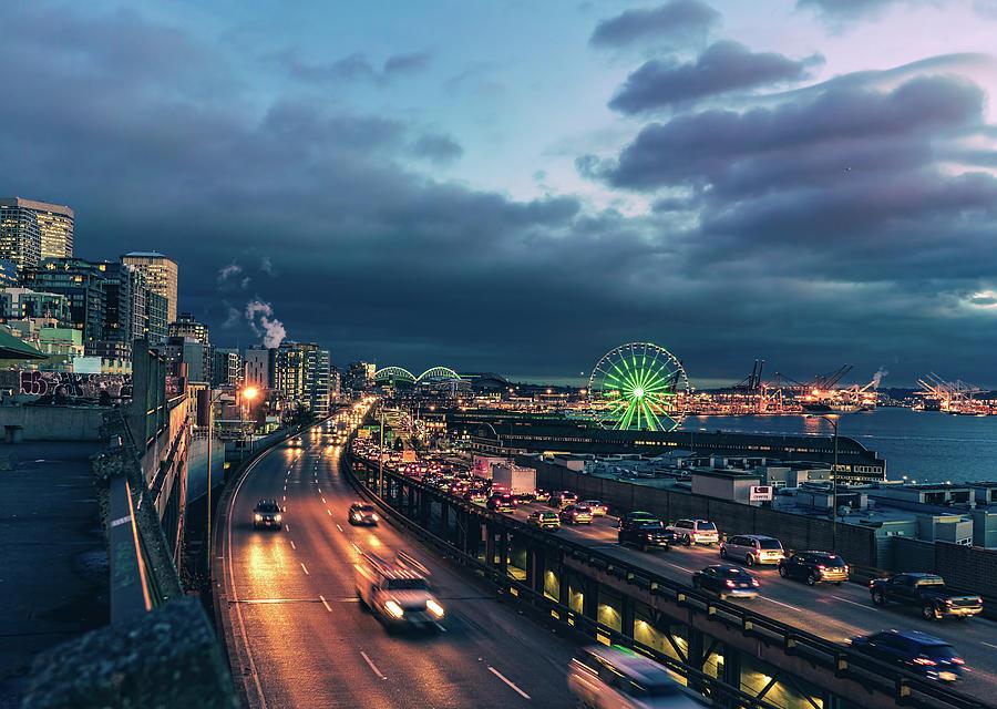 A Seattle Evening Photograph