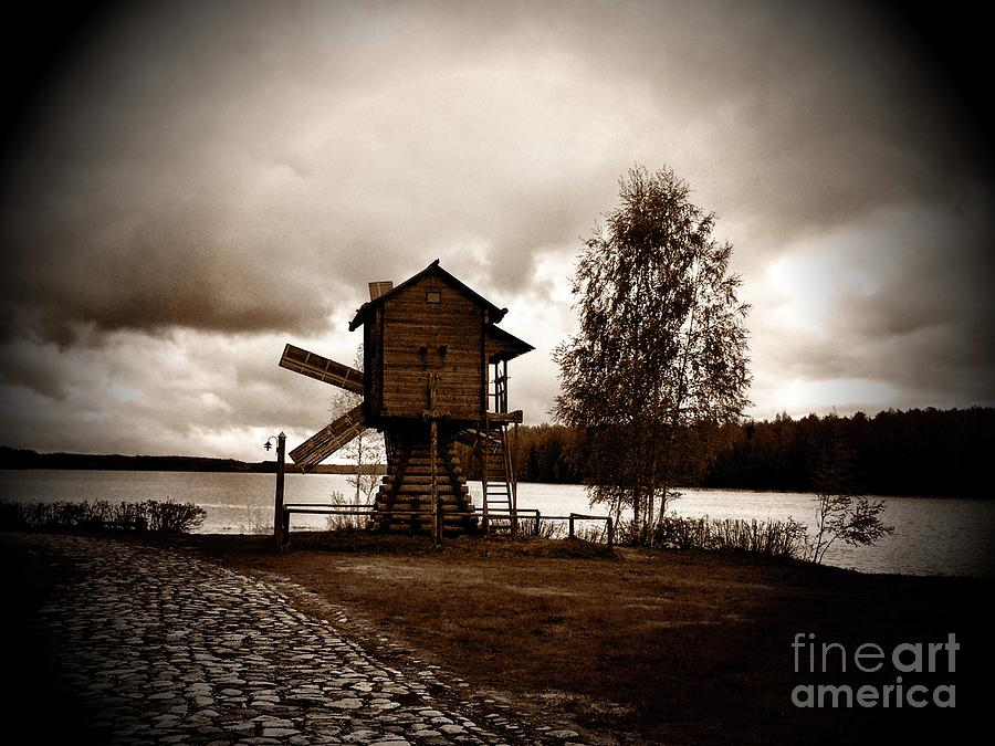 Windmill Photograph - A Sense Of Peace by S Forte Designs
