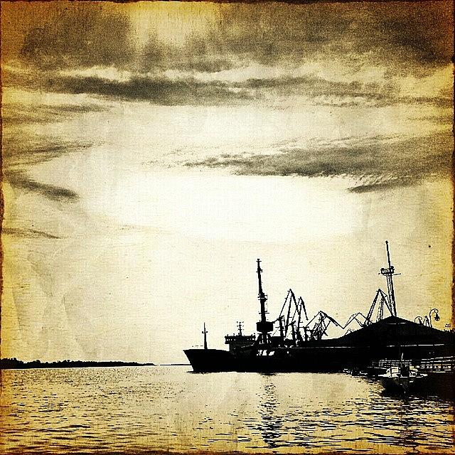 Kherson Photograph - A #ship Is Safe In Harbor But This Is by Tanya Gordeeva