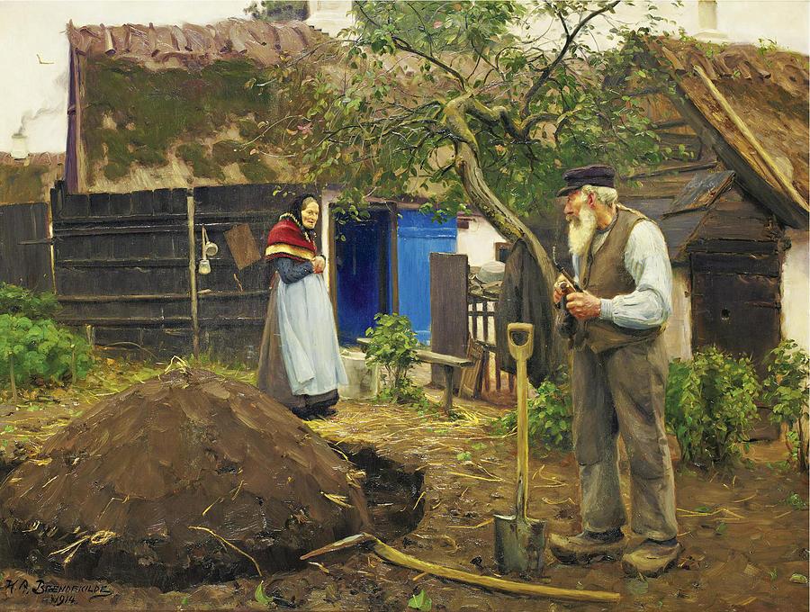 Image result for hans andersen brendekilde paintings