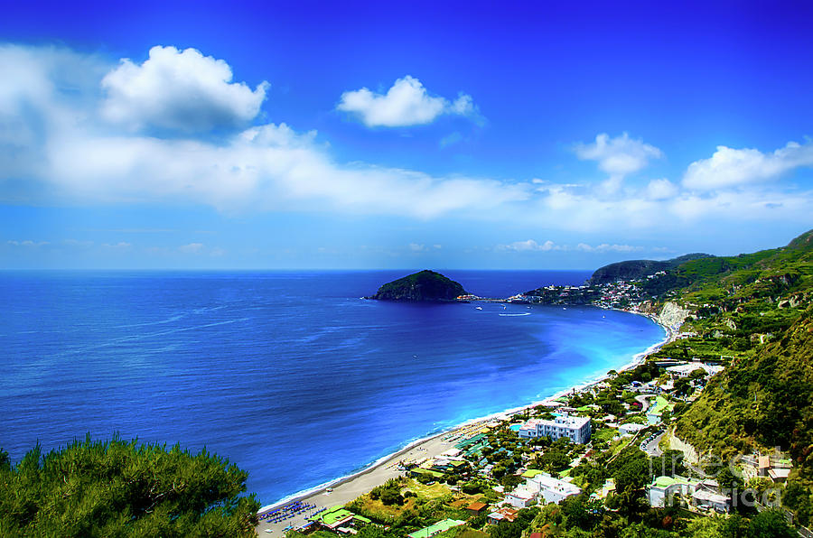 Ischia Photograph - A Side Of Ischia by Alessandro Giorgi Art Photography