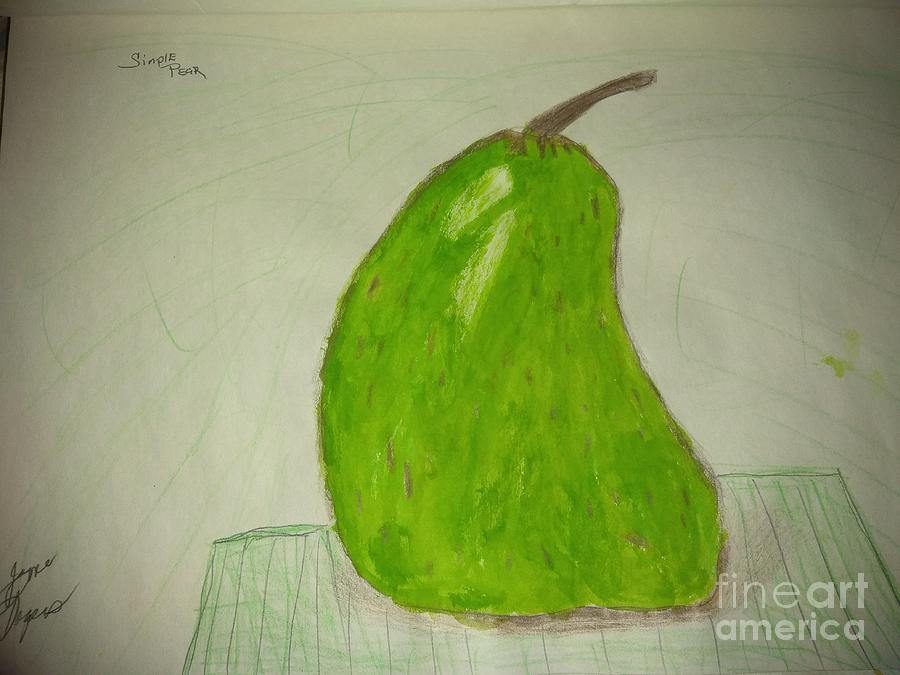 A simply pear by Joyce A Rogers
