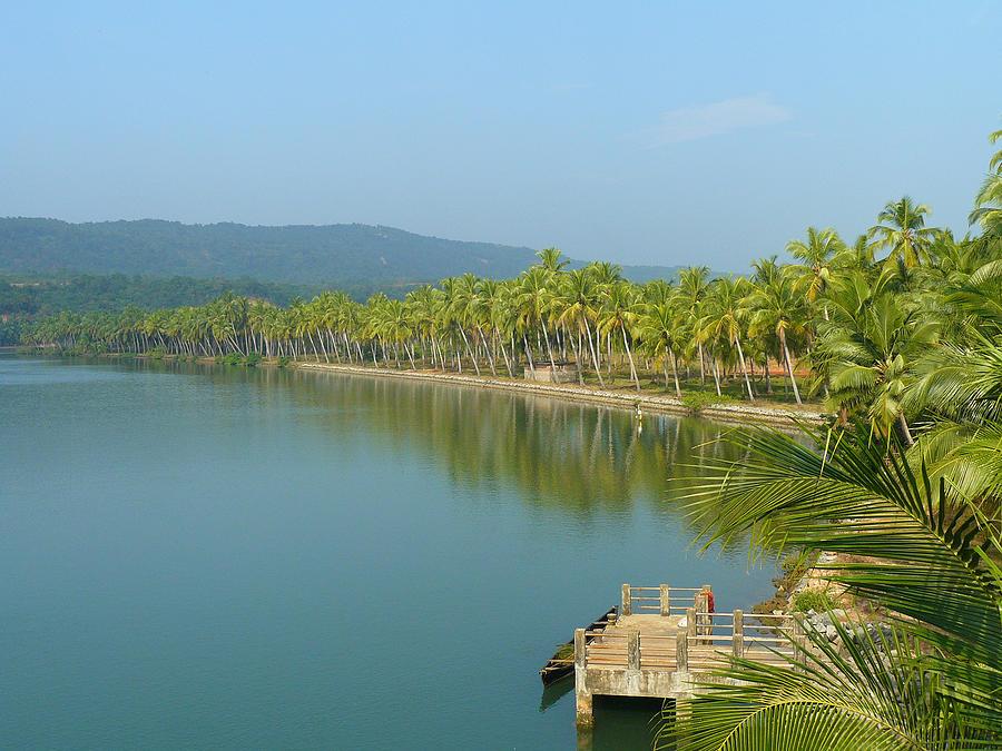 Kerala Photograph - A Slice of Paradise by Sandeep Gangadharan