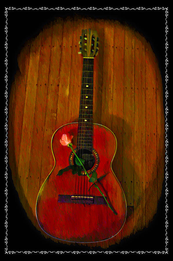 Guitar Photograph - A Song For My Love by Bill Cannon