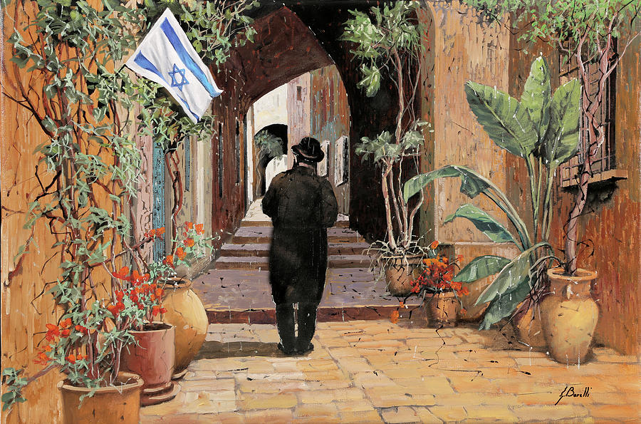 a spasso per Jaffa Painting