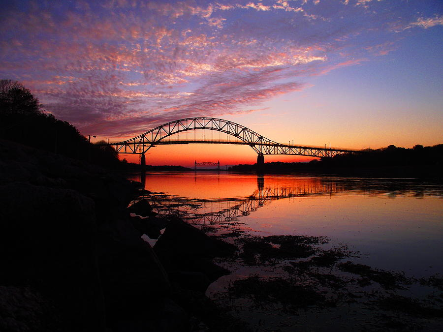 Cape Cod Canal Photograph - A Special Moment by Matthew Grice