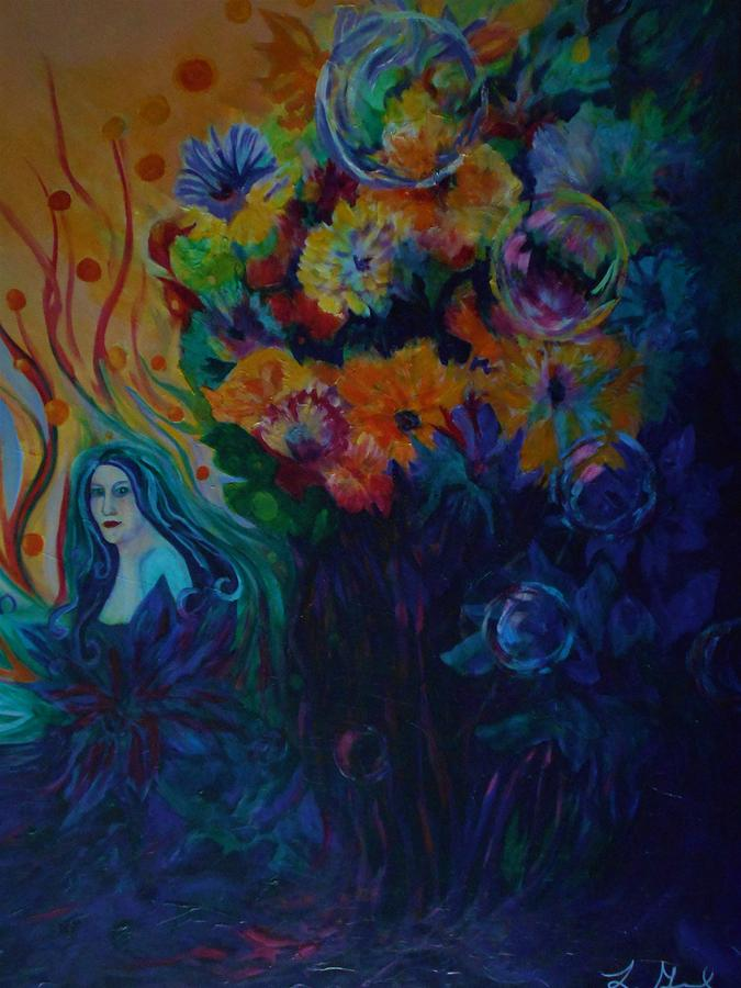 Fairies Painting - A Special Place For The Heart by Carolyn LeGrand