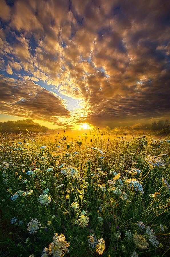 Clouds Photograph - A Spiritual Calling by Phil Koch