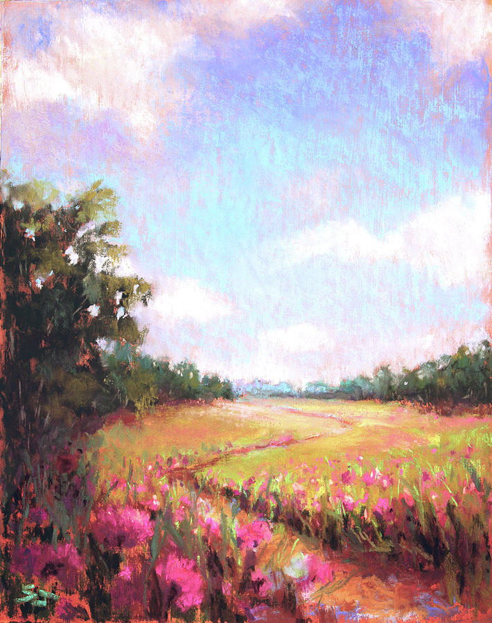 Landscape Painting - A Spring to Remember by Susan Jenkins