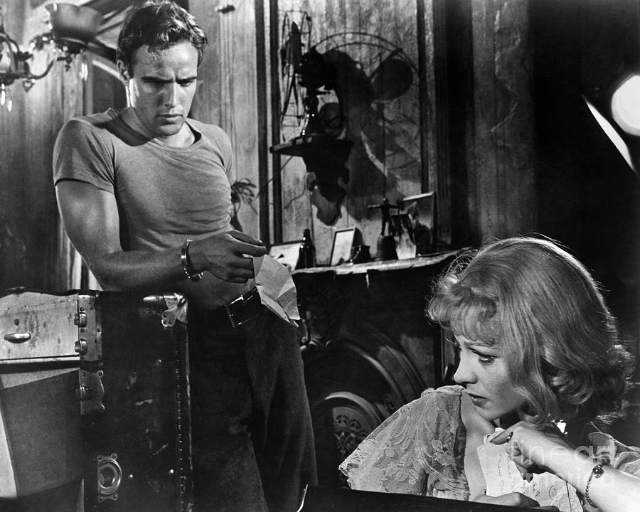 1951 Photograph - A Streetcar Named Desire by Granger