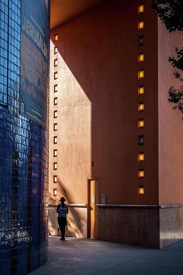 San Jose Photograph - A Stroll Near The Tech Museum, Downtown San Jose by Edward Nowak