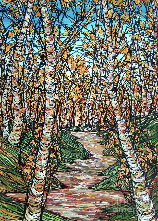 A Stroll Through the Birches by Tracy Levesque