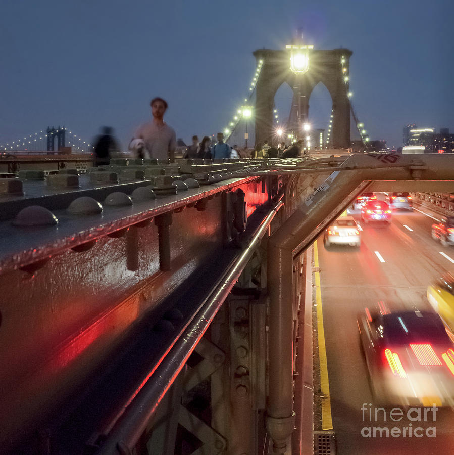 A Strong Bridge, New York City #130515 by John Bald