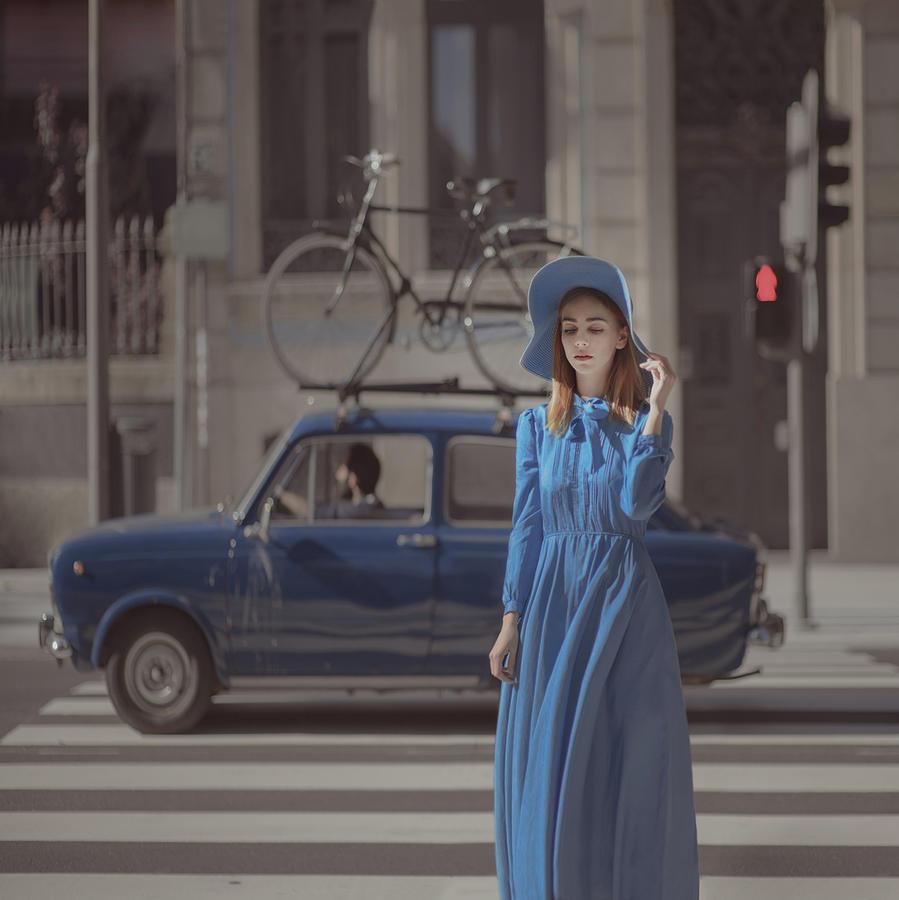A Study In Blue 2 Photograph by Anka Zhuravleva