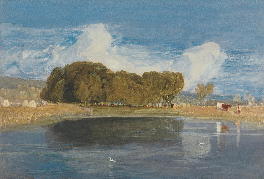 John Sell Cotman Painting - A Summer Day by John Sell Cotman