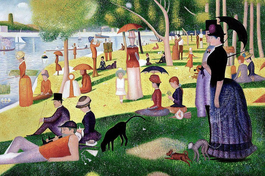 Image result for sunday afternoon on the island of la grande jatte