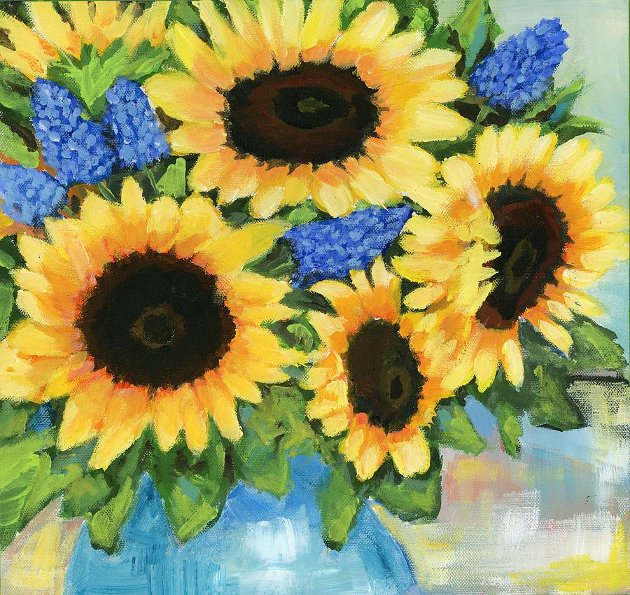 A Sunny Arrangement by Debbie Brown