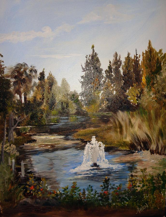 A Sunny Day At The Gardens by Arlen Avernian - Thorensen