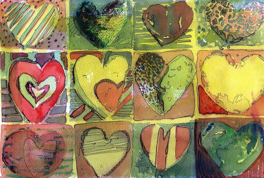 Valentine Painting - A Sunny Valentine by Mindy Newman