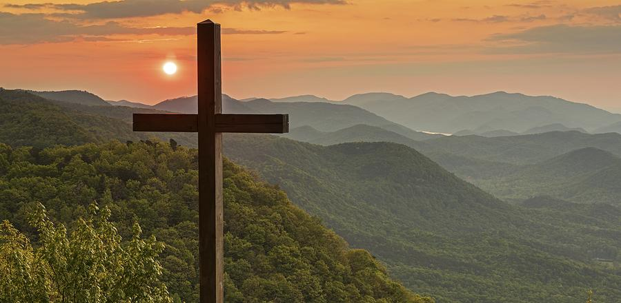 Chapel Photograph - A Sunrise View From Pretty Place Greenville Sc by Willie Harper