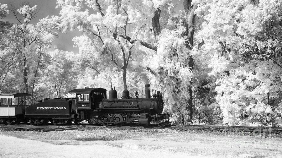 A Surreal Train Ride Photograph