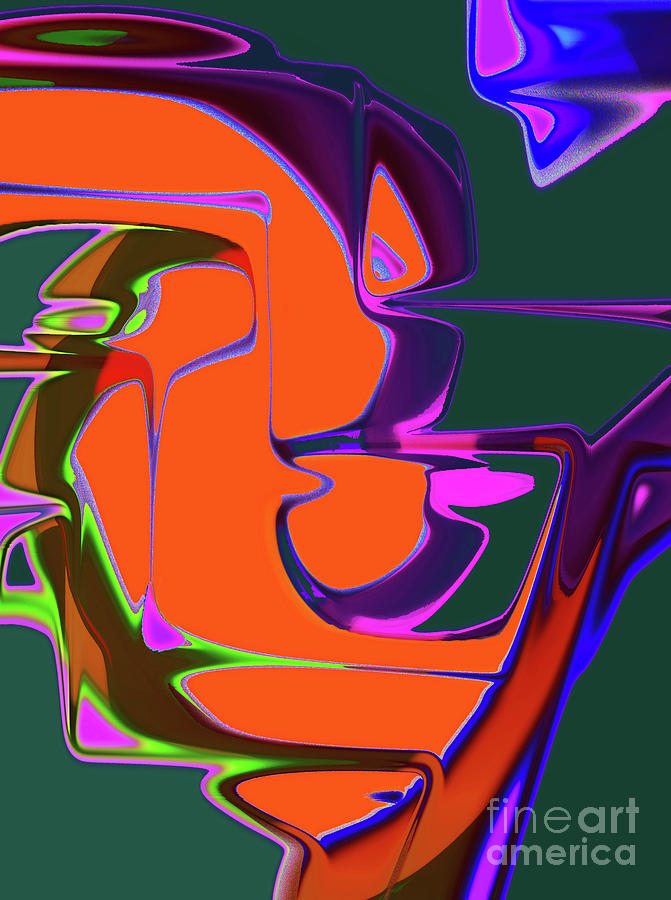 A Teardrop Digital Art