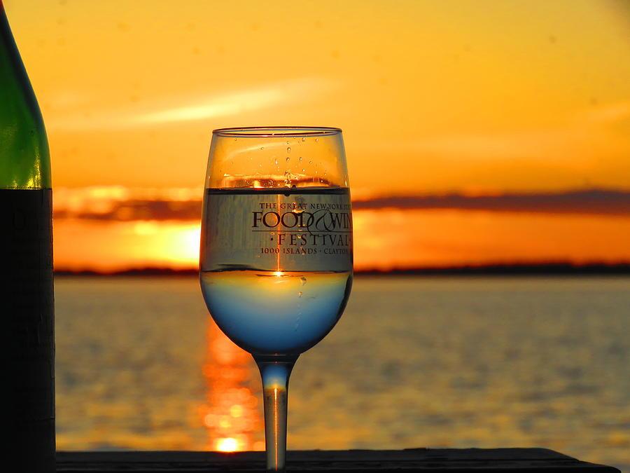 A Thousand Island Sunset Photograph