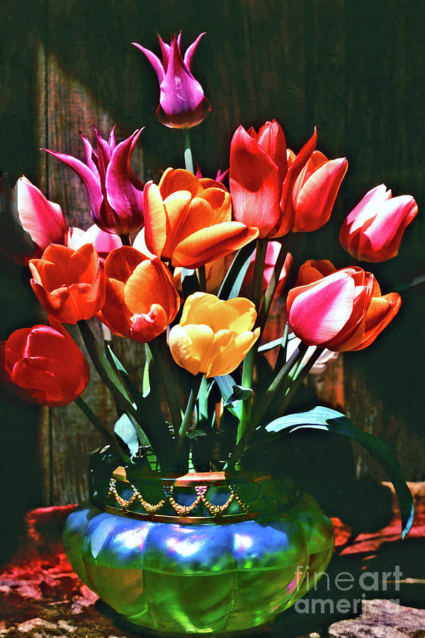 Tulip Photograph - A Time For Tulips by Michael Durst