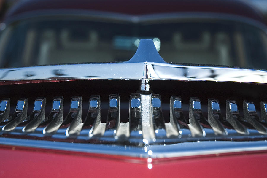 Auto Photograph - A Toothy Grin by Richard Henne