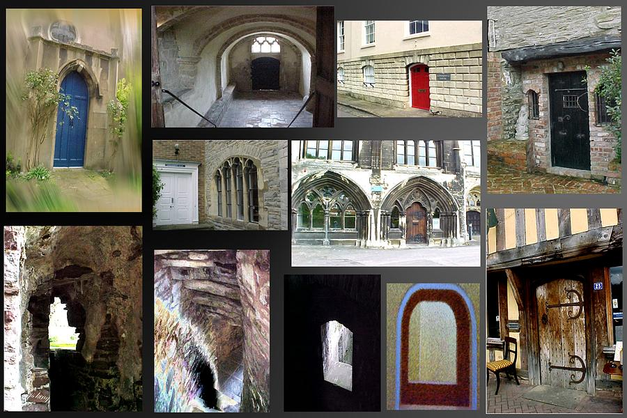 Photographs Photograph - A Tour Of Doors by Jacquie King