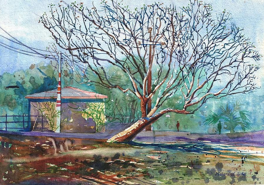 A Tree  by Makarand Joshi