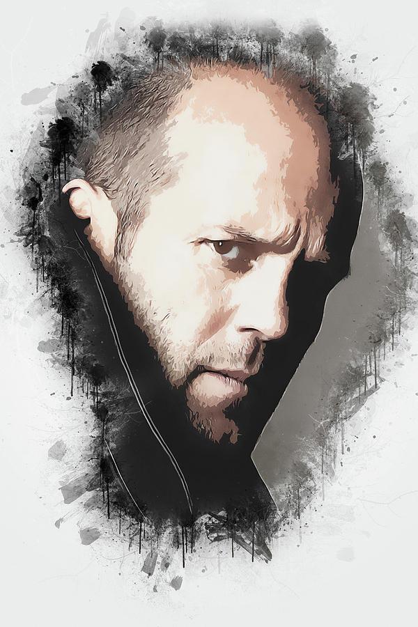Movies Digital Art - A Tribute To Jason Statham by Dusan Naumovski
