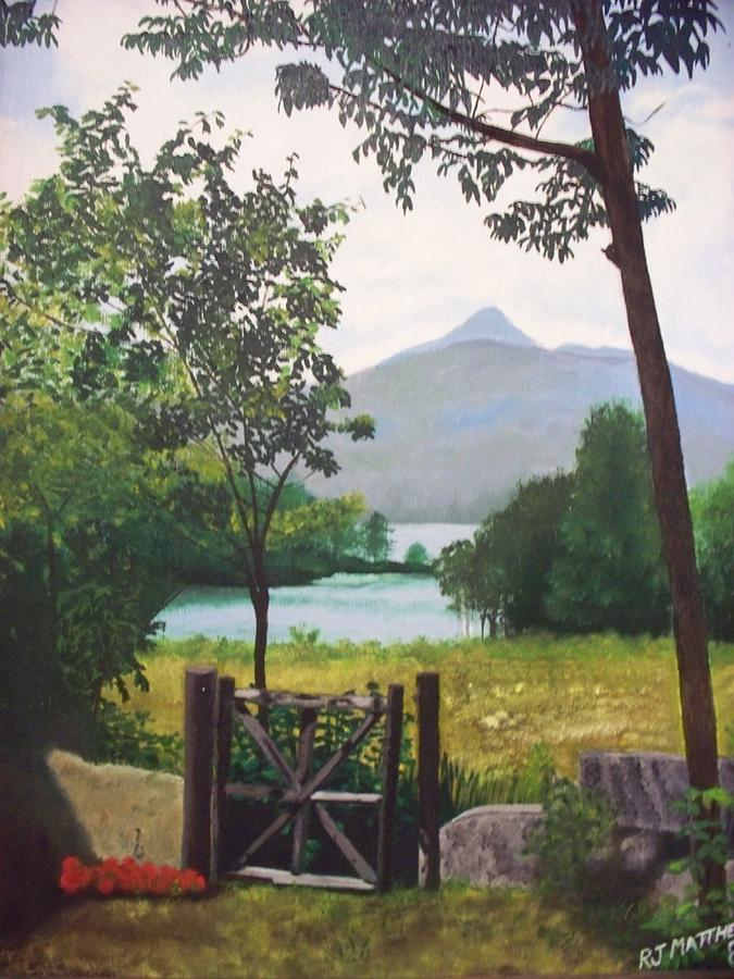 Landscapes Painting - A Tribute To Mom And Dad. by Rosanne Bartlett