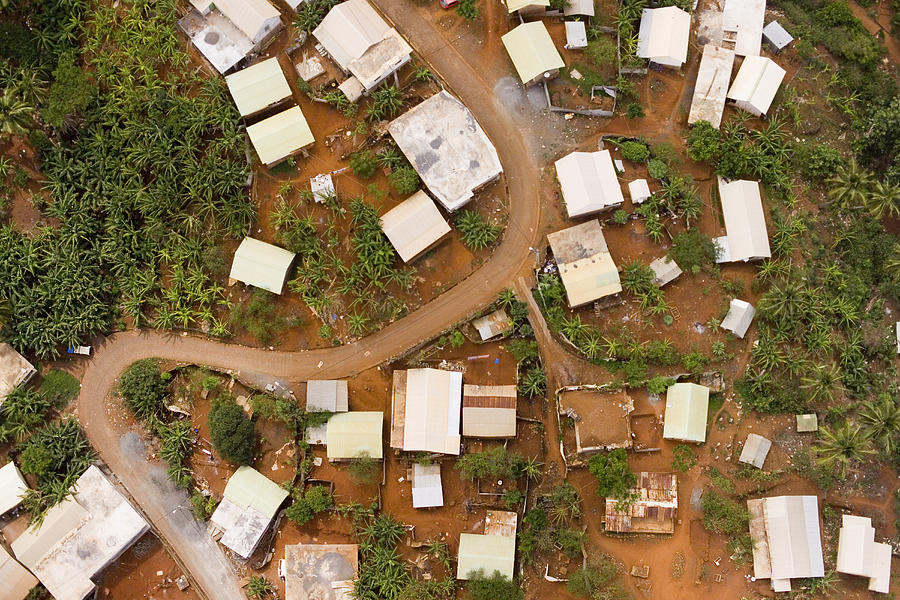 Mayotte Photograph - A Typical Indigenous Village by Michael Fay