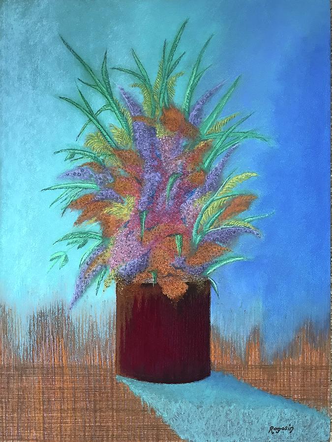 A Vase of Flowers by Harvey Rogosin