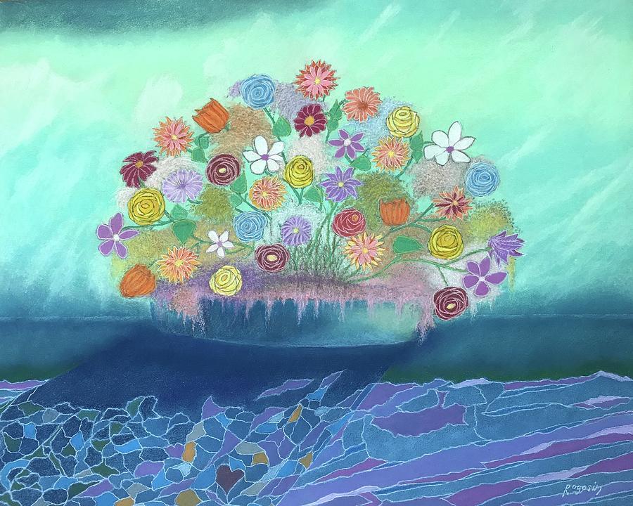 A Vase of Flowers III by Harvey Rogosin