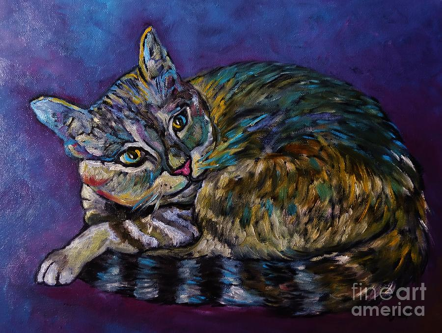 A Very Colorful Cat by Reb Frost