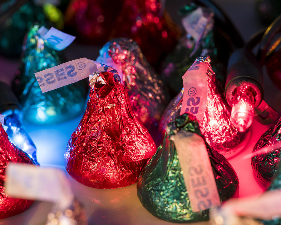 A Very Hershey\'s Kisses Christmas Photograph by Toby McGuire