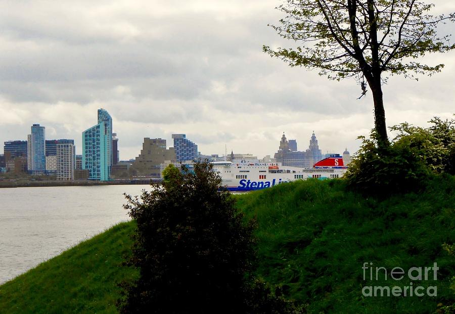 A View Across The Mersey Photograph
