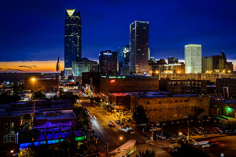 City Photograph - A View From Bricktown by Don Risi