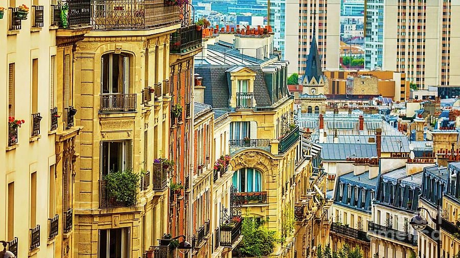 A View From Montmartre Photograph