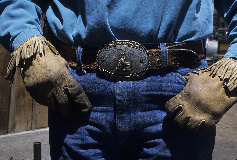 Horizontal Photograph - A View Of A Cowboys Prized Possesion by Taylor S. Kennedy