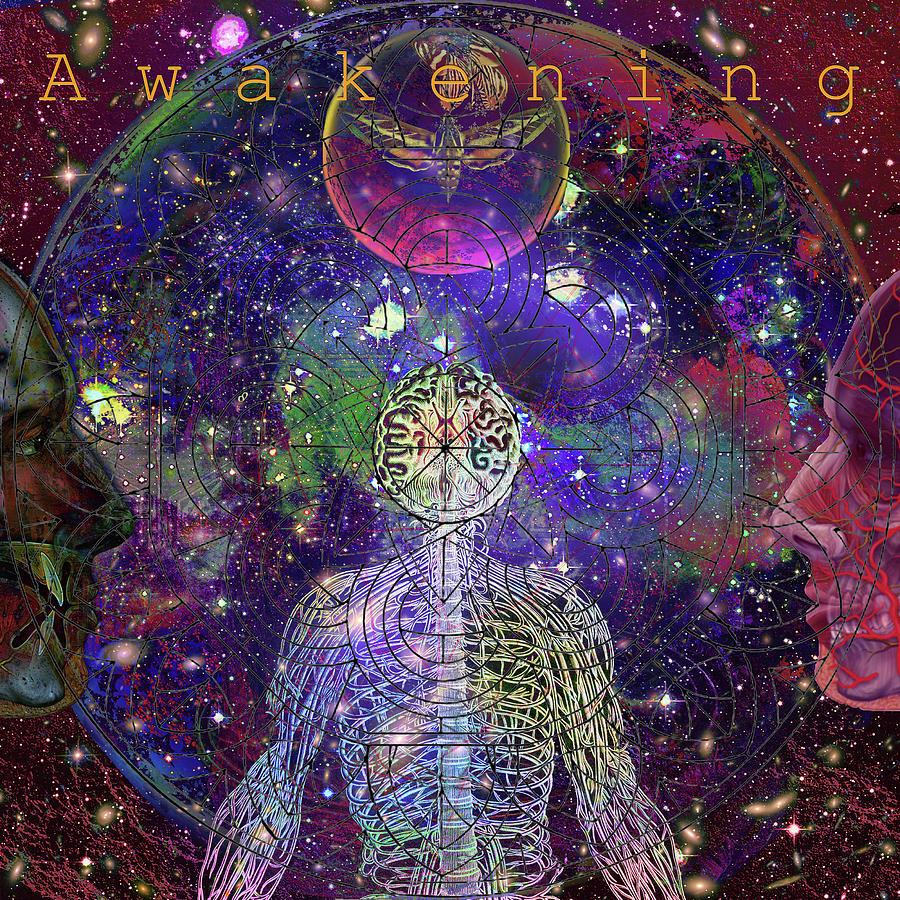 Awakening Digital Art - A W A K E N I N G    Solarl I F E by Joseph Mosley